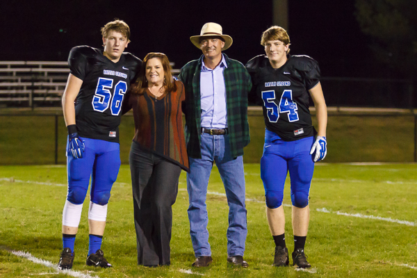 Slideshow: Battle Ground Academy senior night