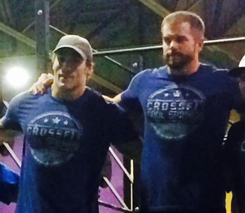 Local duo defeats former champion in CrossFit competion