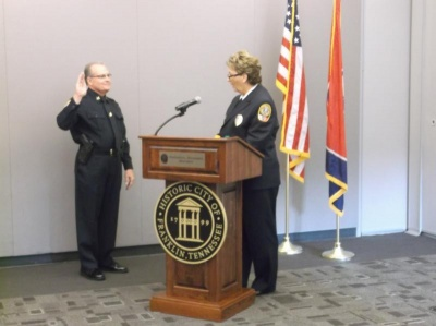 New deputy FPD chief officially 'on the job'