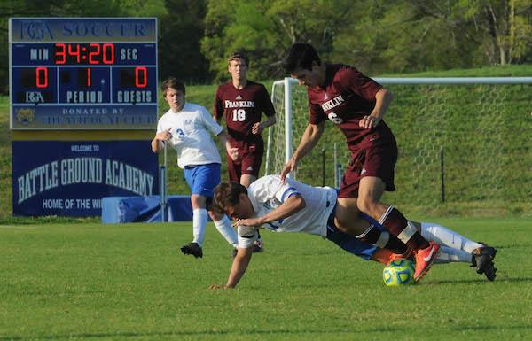 FHS claims Mack Hatcher battle against BGA | Franklin Home Page, FHP, Sports, Soccer, Franklin, FHS, Franklin Rebels, Battle Ground Academy, BGA, BGA Wildcats
