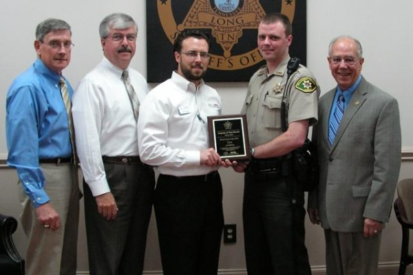 WCSO detective and charity honored with award
