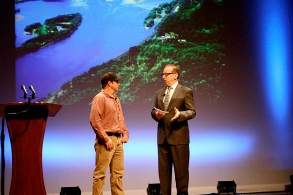 CNN Hero of the Year kicks off statewide environmental initiative in Franklin | Keep Tennessee Beautiful,CNN Hero of the Year,Chad Pregracke,Franklin Theatre,Franklin Home Page,FHP