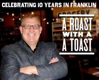 Puckett's celebrating 10th year with roast of Andy Marshall
