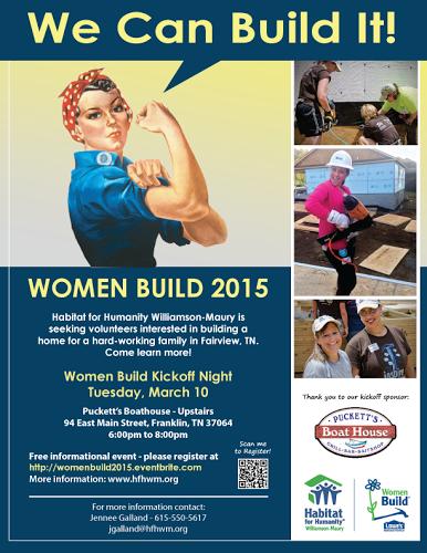 Habitat for Humanity seeks volunteers for 2015 'Women's Build'