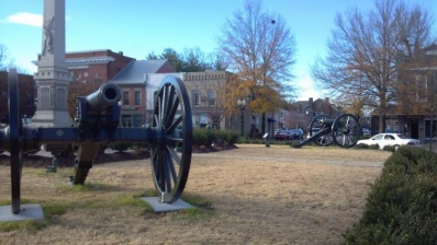 Historically accurate facelift for downtown square complete