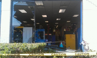 UPDATED: Car crashes into Chuck E. Cheese in Cool Springs
