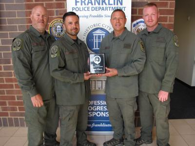 FPD sniper teams place in national competition