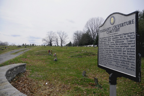 Toussaint L'Ouverture Cemetery added to cell phone tour
