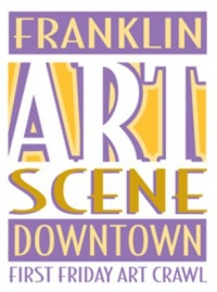 December Art Crawl held this Friday | Franklin Art Scene,art crawl,Franklin art crawl,downtown Franklin,Franklin Home Page,FHP