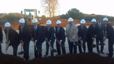 Ovation developers host groundbreaking ceremony