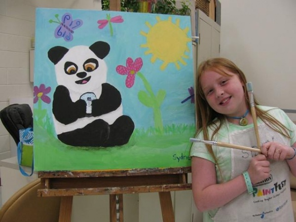 Summer art camps at Longview rec center