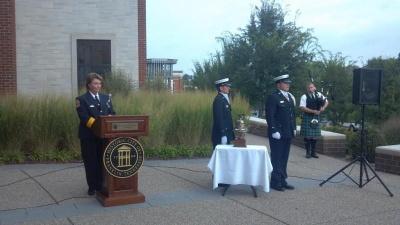 City holds Sept. 11 memorial tribute