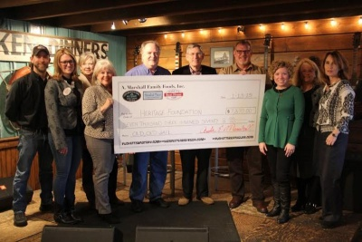 Puckett's donates more than $7,000 to Heritage Foundation