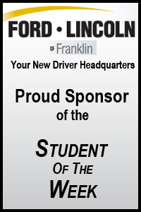 Ford Lincoln of Franklin's Students of the Week for May 22