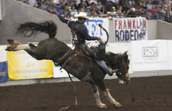 Franklin Rodeo packs the stands; thrills SRO crowd
