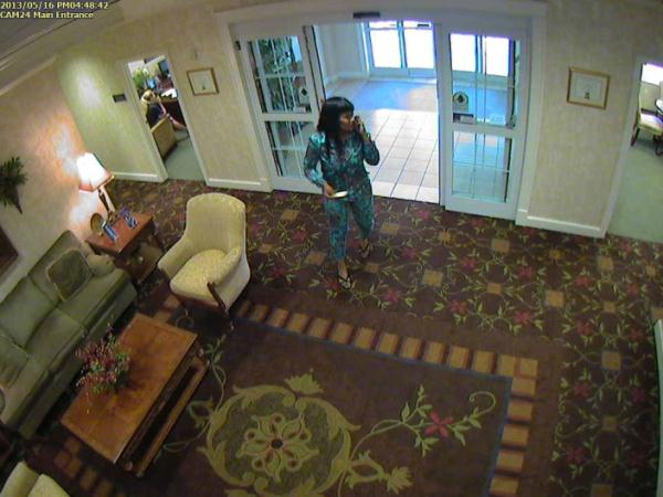 Police say woman stole credit cards from nursing home