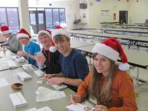 Page juniors raise money for graduating class with 'Letters from Santa'