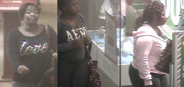 Franklin Police searching for trio of alleged mall thieves