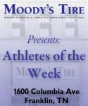 Moody's Tires Athlete of the Week of May 20