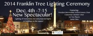 City to host Christmas tree lighting Dec. 4