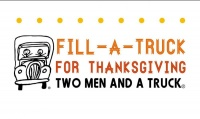 Two Men and a Truck holds Second Annual Fill-A-Truck for Thanksgiving with GraceWorks Ministries