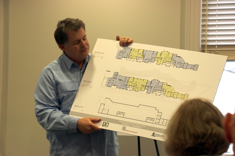 Developers discuss plans for new West Main Street condos