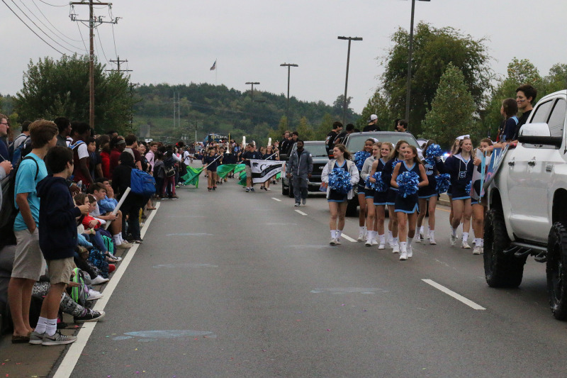 PHOTO GALLERY: Centennial celebrates with homecoming parade before Friday night game | Centennial Cougars, Centennial High School, homecoming, Williamson County Schools