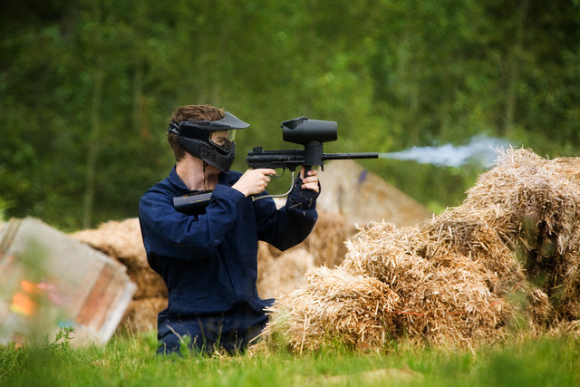 Parks and Rec offers fall break paintball trip for 11 to 15 year olds