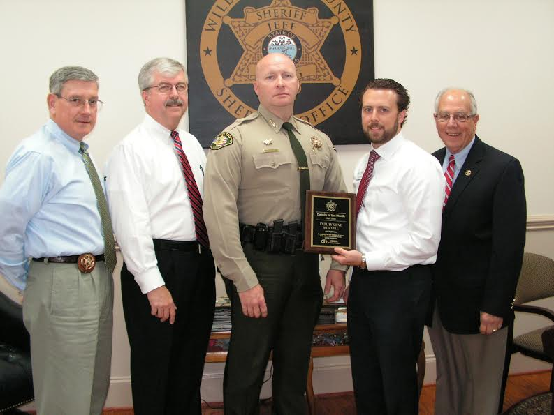 Deputy honored for his response on medical call