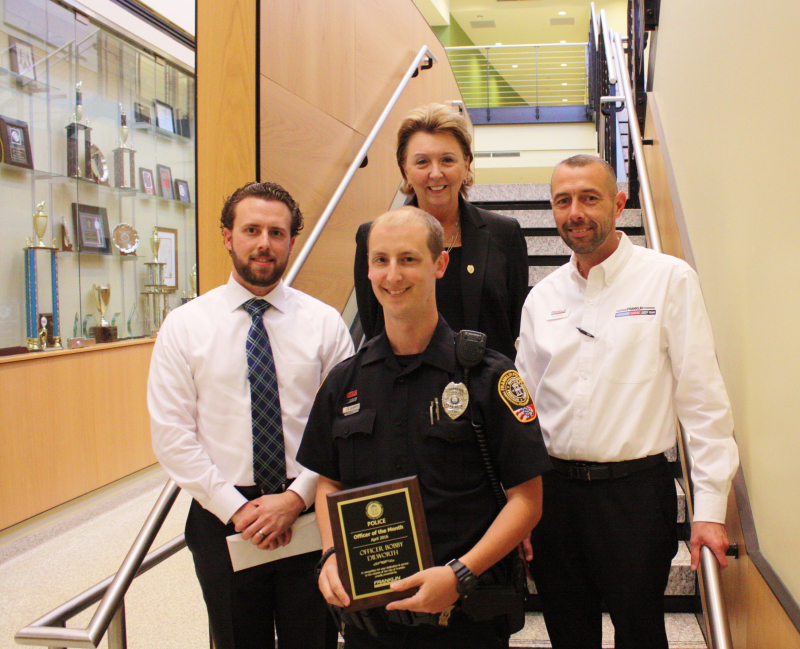 Officer who helped with Galleria arrests named Officer of the Month