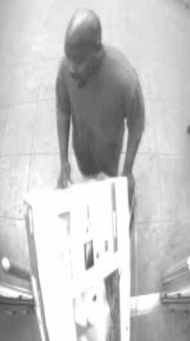FPD searching for suspect who stole 43-inch TV
