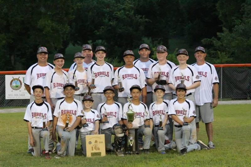 Franklin Baseball Club Rebels qualify for Southeast Regional