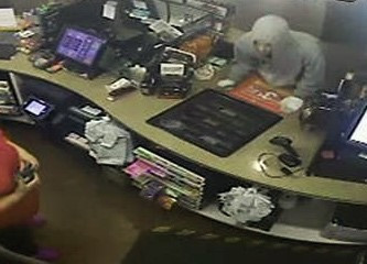 Video shows suspect stealing entire cash register from Franklin gas station