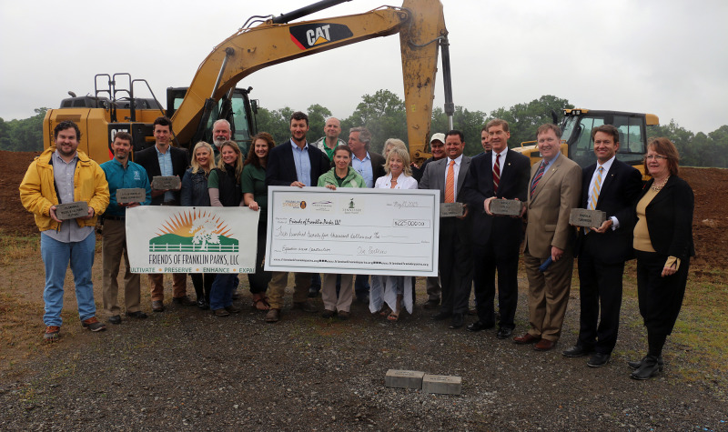 Park at Harlinsdale receives $250K fundraising boost | Franklin, Friends of Franklin Parks, Park at Harlinsdale Farm, Historic Franklin, Harlinsdale Park, Franklin Synergy, Infiniti of Cool Springs, Tennessee Equine Hospital