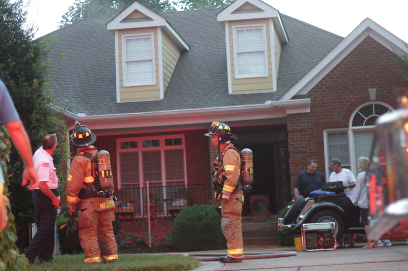 Lightning potential cause for two Franklin house fires