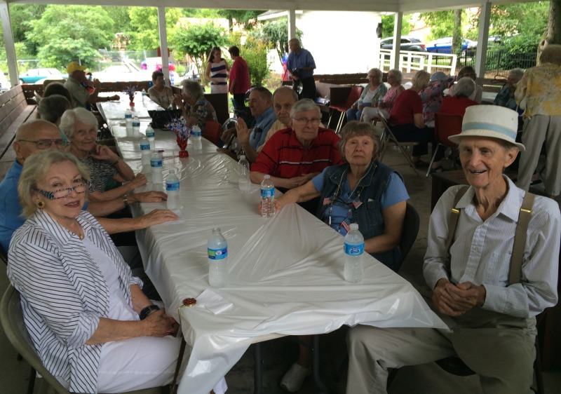 J.L. Clay seniors celebrate community at annual picnic | J.L. Clay Senior Center, picnic, Fourth of July, seniors, annual