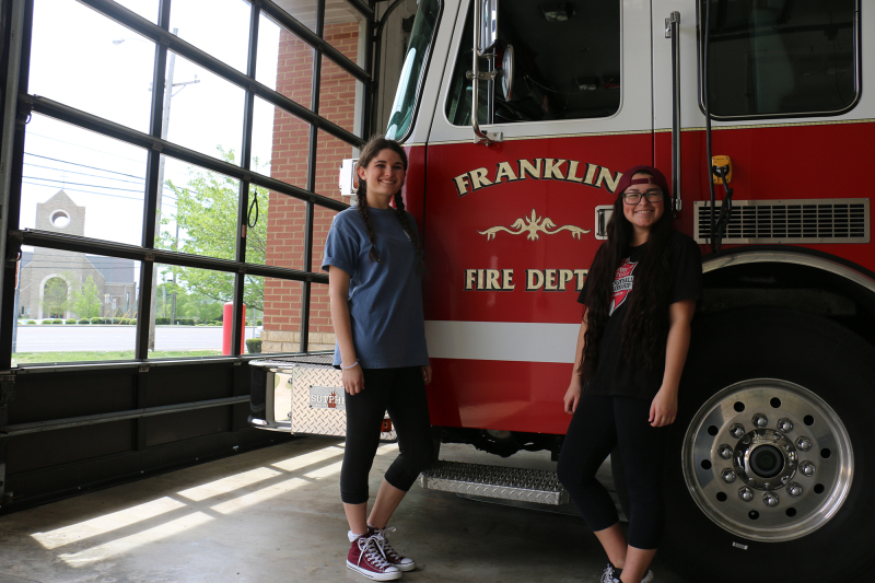 Job shadow day gives Williamson students a glimpse into firefighting