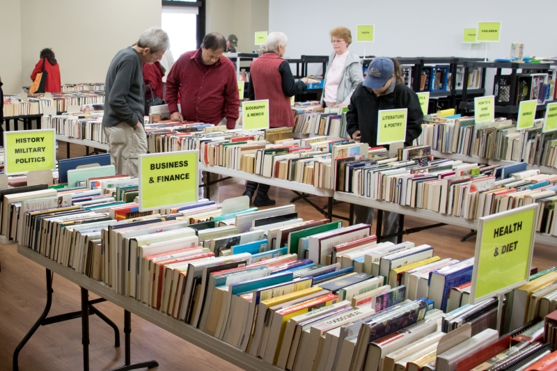 """Used book sale starting Thursday said to be """"most organized"""""""