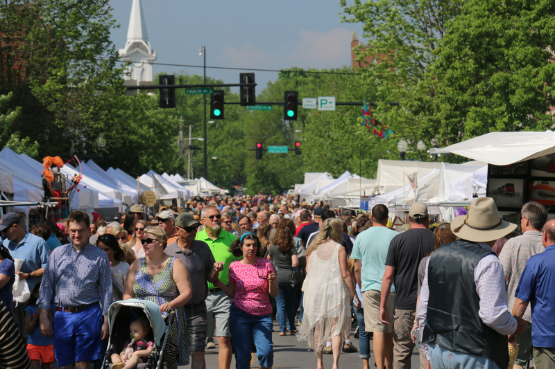 SCENE AND HEARD: The sights of 2016 Main Street Festival