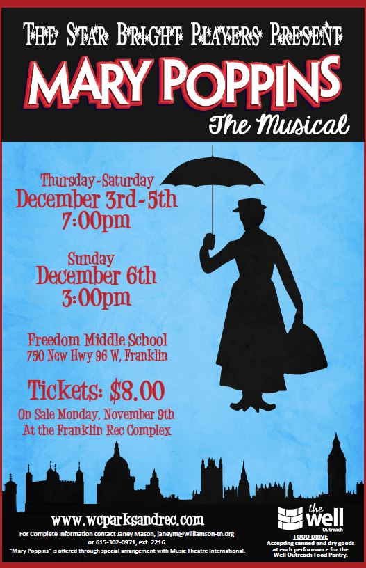 """""""Mary Poppins"""" sells out three of four performances"""