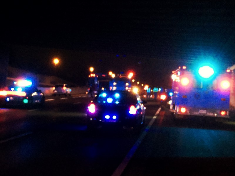 UPDATE: Police determine man fell off McEwen overpass