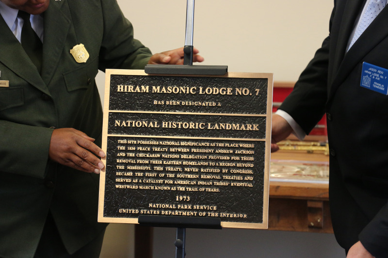 Masonic Lodge receives national landmark plaque after decades waiting | Franklin, National Park Service, national landmark, Hiram Lodge No. 7, Historic Franklin, Historic preservation, Williamson County