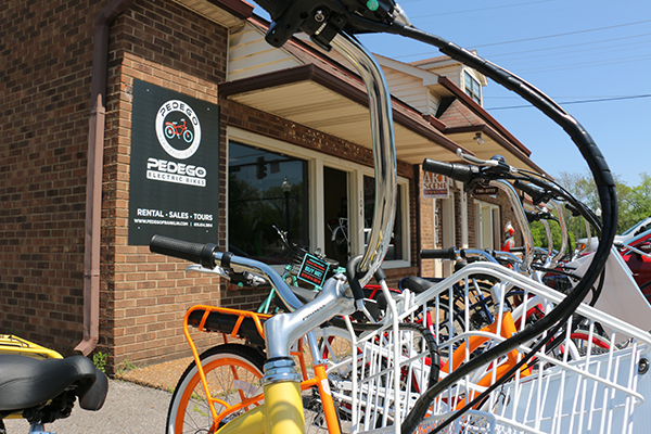 Pedego Bikes gives pedaling a new style in Franklin | Pedego Bikes, Main Street, Franklin, Downtown Franklin, business, cycling, Williamson County