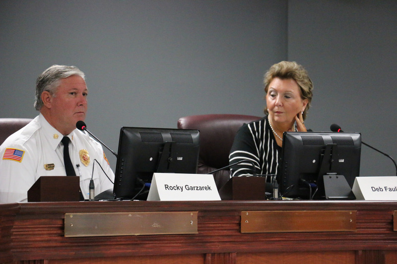 Franklin chiefs review city's public safety