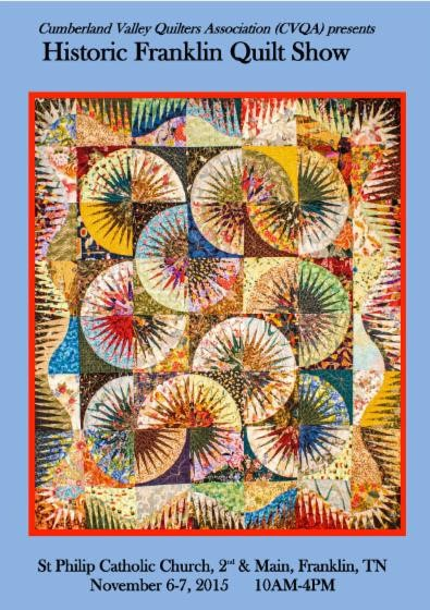 Historic Franklin Quilt Show celebrates 150th Anniversary of the Civil War's end