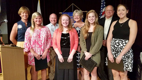Cool Springs Rotary awards scholarships | Cool Springs, Cool Springs Rotary Club, scholarships, Ravenwood High School, Centennial High School, Independence High School, Franklin High School
