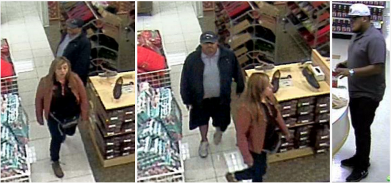 FPD search for credit card theft suspects