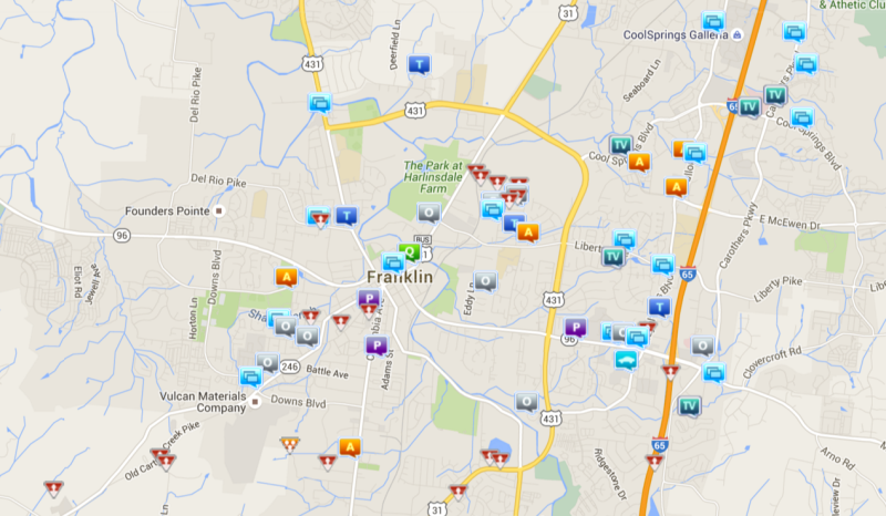 Small rash of theft from motor vehicles in Cool Springs last week