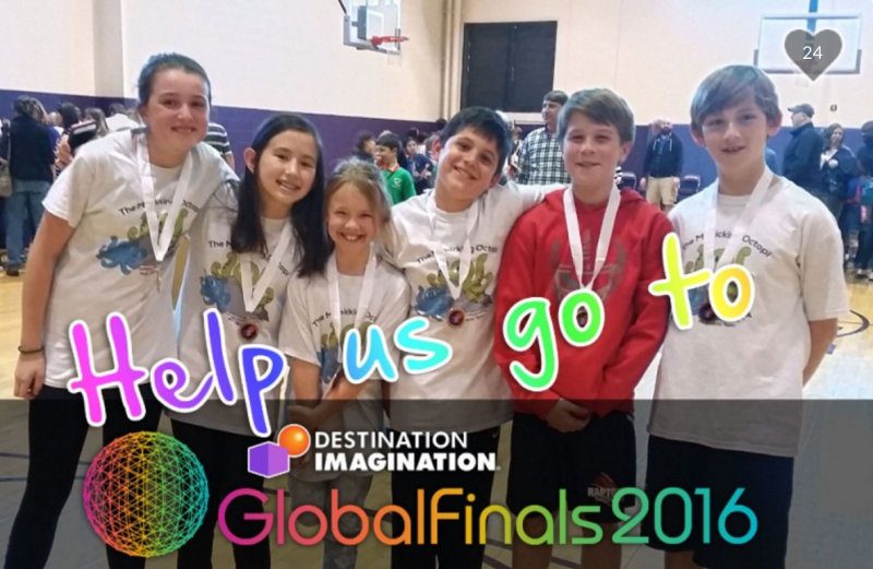 Williamson students fundraising to compete against kids all over the world