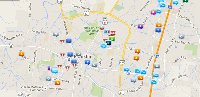 CRIME REPORT: Simple assaults, thefts topped last week's crime in Franklin